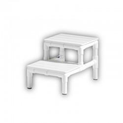 MRI compatible step stool,...
