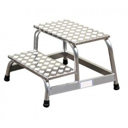 Non-magnetic aluminum steps...