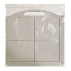 Flat panel disposable cover