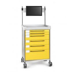 Chariot médical simple -...