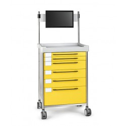 Simple Medical Trolley -...