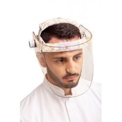 Panoramic lead visor