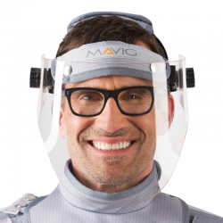 X-ray protective visor