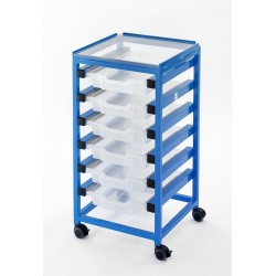 Utility Trolley with 6 Drawers