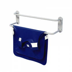Wall bracket for leaded aprons
