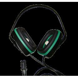 MRI pneumatic headphone