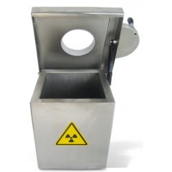 Medi Sharp - shielded bin...