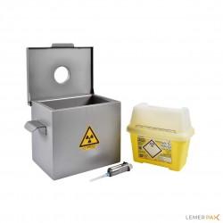 PRA3 - Shielded sharp bin