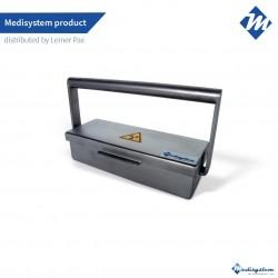 Shielded syringe carrier -...