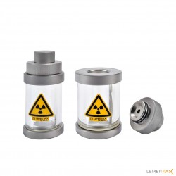 Leaded glass bottle protectors