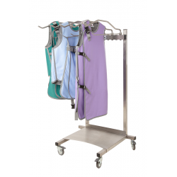 Mobile rack for 10 x-ray...