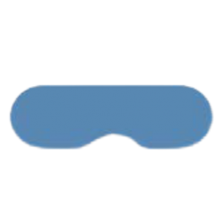 Eye protection for single use