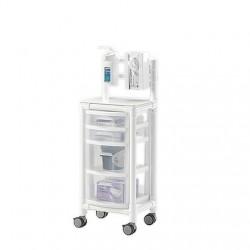 Chariot d'hygiène IRM